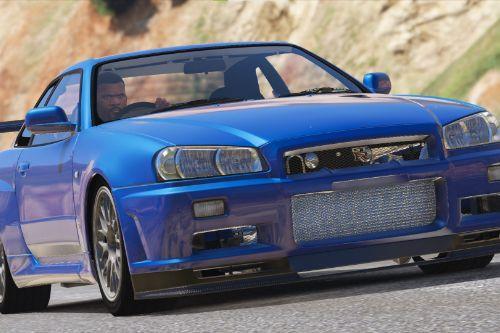 Nissan Skyline R34 GT-R (NoHz) Handling Improvement