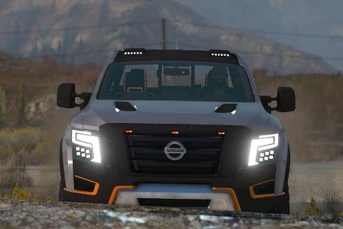Nissan Titan Warrior 2017 [Add-On / Replace | Extras | Template | Tuning]