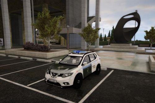 Nissan X-Trail 2015 Guardia Civil [ELS/Marked/Unmarked/Civil version]