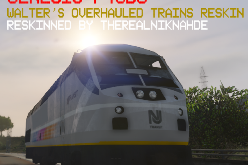 NJ Transit - Genesis P40DC Reskin! [Overhauled Trains]