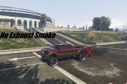 No Car Exhaust Smoke