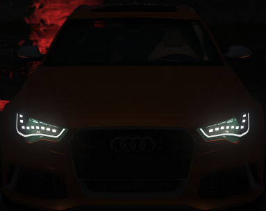 Realistic Headlights Vehicles [OIV]