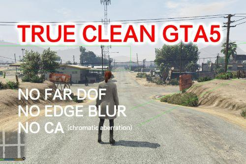 No Far DOF / No Edge Blur / No Chromatic Aberration