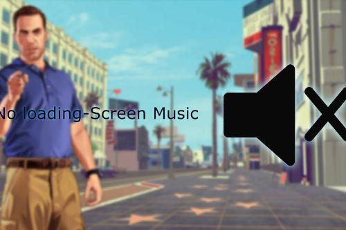 No loading-screen music