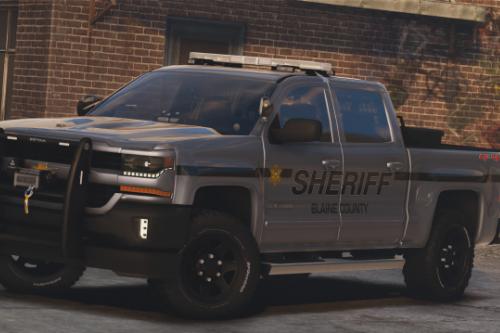 2017 Police Chevrolet Silverado [Replace / FiveM]