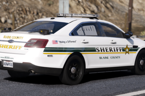 2018 Police Ford Taurus [Replace / FiveM]