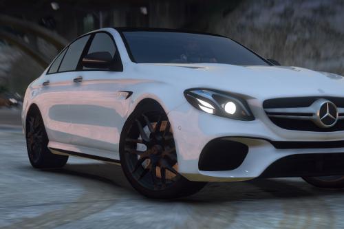 Mercedes-Benz E63 Unmarked [Add-On / FiveM]