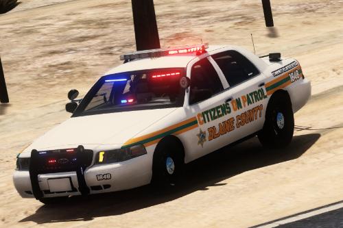 CVPI Florida Citizen On Patrol Paintjob