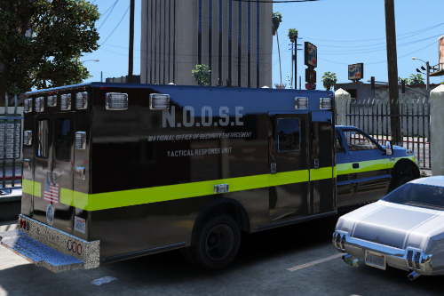 """""""NOOSE"""" Tactical Response Unit skin for Ford F350 (Bomb Squad, Counter Terrorism)"""