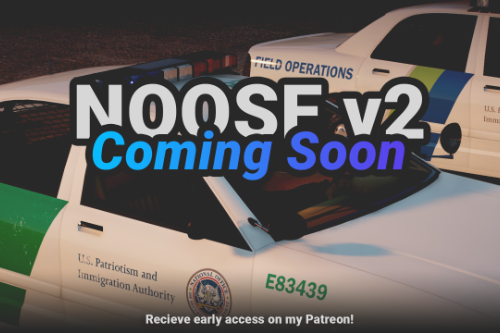 NOOSE Multi-Agency Pack  [Add-On | Lore Friendly | Soundbank | FiveM-Ready] (Based on DHS) (Version 2.0 Coming Soon)