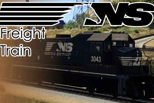Norfolk Southern Freight Train