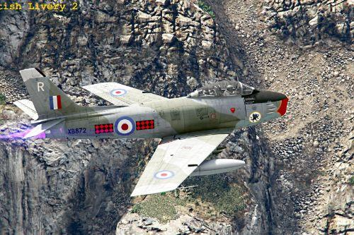 North American Sabre F-86F (Europe Pack) [Add-On]