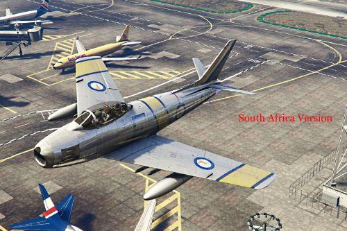 North American Sabre F-86F {Oceania & Africa Pack} [Add-On]
