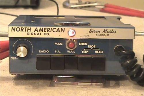 North American Signal Campany SI-100-M Siren Pack