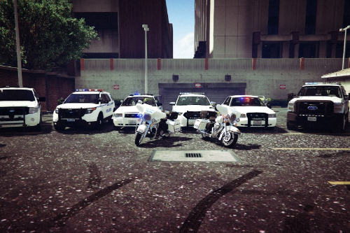 North Los Santos Police Dept. (Fictional - Based on North Las Vegas PD)