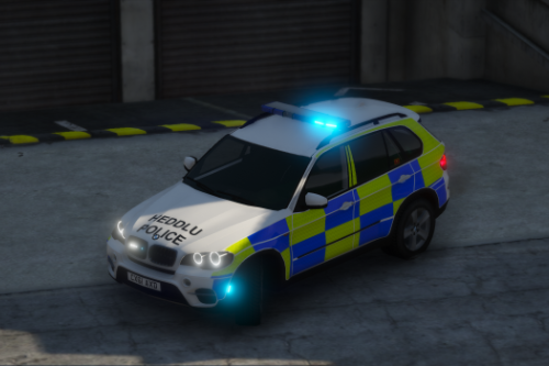 North Wales Police 2011 BMW X5 ARV