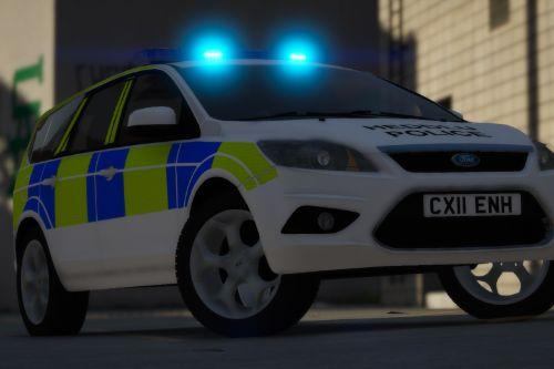 North Wales Police 2011 Ford Focus Estate IRV