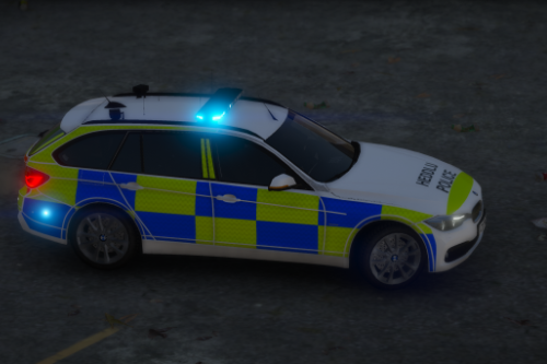 North Wales Police 2013 BMW 330D Estate RPU