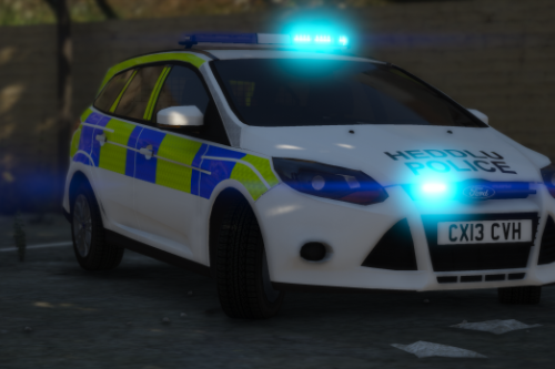 North Wales Police 2013 Ford Focus Estate IRV