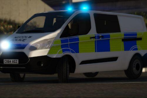 North Wales Police 2014 Ford Transit Custom PTV