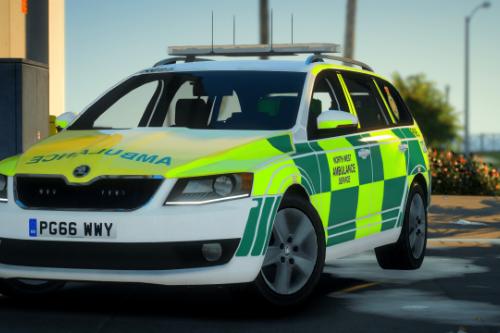 North West Ambulance Service Skoda Octavia