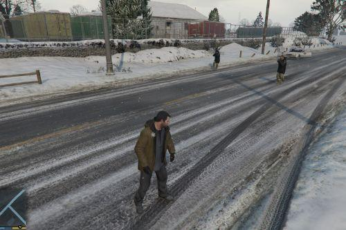 North Yankton State Patrol wanted level