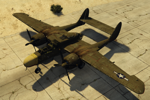 Northrop P-61 Black Widow [Add-On]