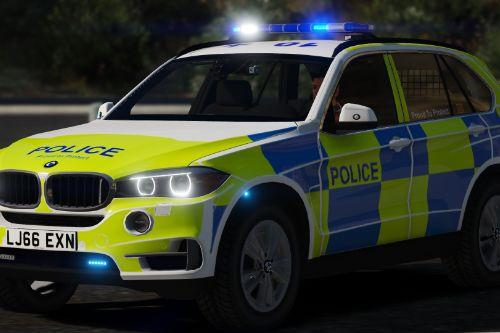 Northumbria Police BMW X5 ARV Pack! [ELS | Dials | Replace
