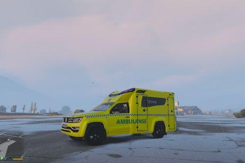 Norwegian Amarok Ambulace