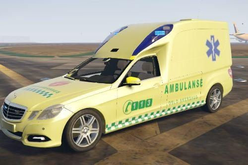 Norwegian Ambulance, Mercedes E-Class