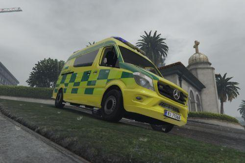 Norwegian Ambulance new design