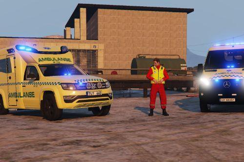 Norwegian Ambulance pack // Norsk Ambulansepakke