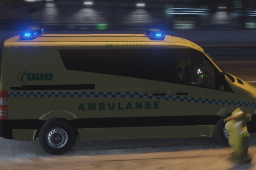 Norwegian Ambulance Sprinter
