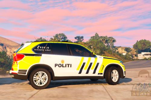 Norwegian BMW X5 Innsatsleder Police Car [ELS]