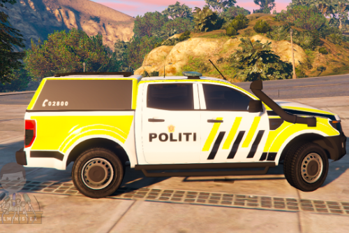 Norwegian Ford Ranger Police Car [ELS]
