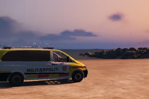 Norwegian Military Police Vito [Replace - ELS]