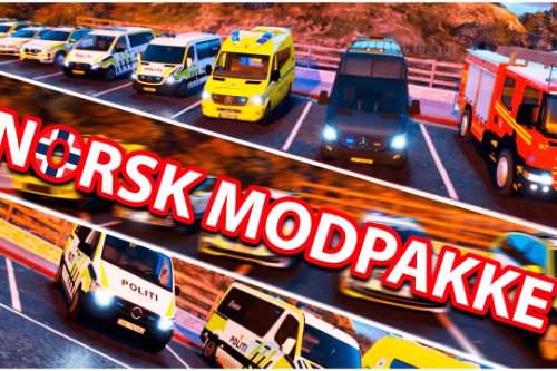 Norwegian Modpack DLC (emergency vehicles, uniforms and siren)
