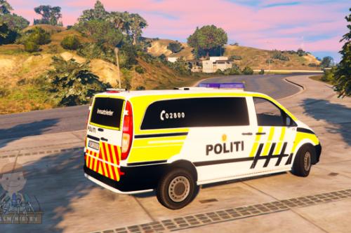 Norwegian Vito Innsatsleder Police Car [ELS]