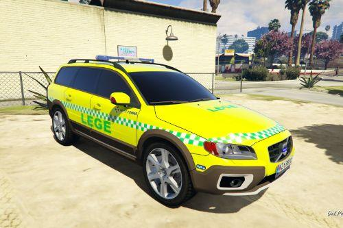 Norwegian Volvo XC70 Doctor/Paramedic car [ELS]