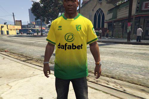 Norwich City FC 2019-20 Home Shirt