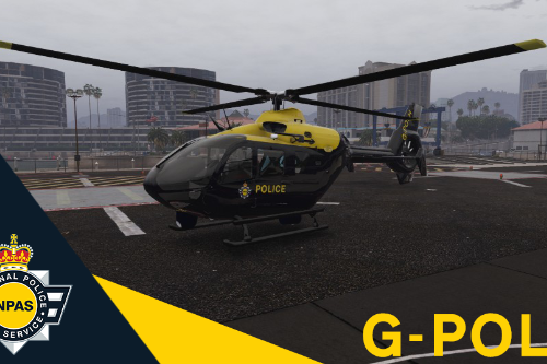NPAS Helicopter Reskin (G-POLH from Redhill)