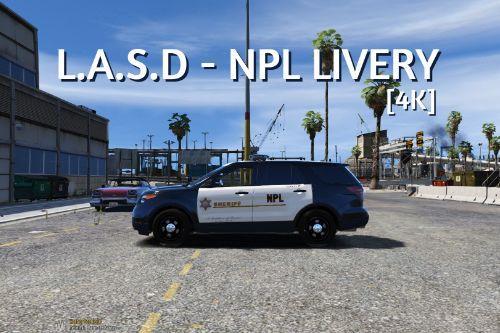 ❂ L.A.S.D - NPL LIVERY ❂ [V.1.0]