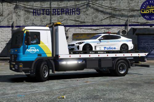 NRMA australian tow truck