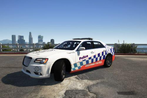 NSW New South Wales Highway Patrol Chrysler 300 SRT8 skin