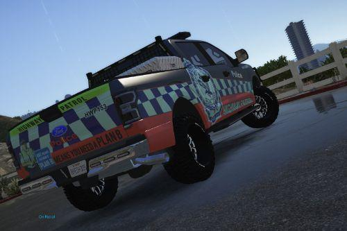 NSW New South Wales Highway Patrol Raptor f150 skin