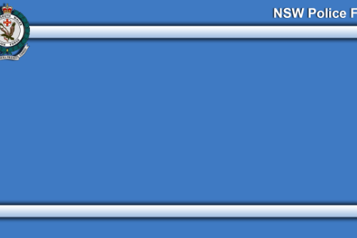 Australia NSW Police Computer +  Background