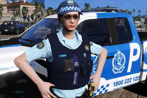 NSW Police FEMALE load bearing vest