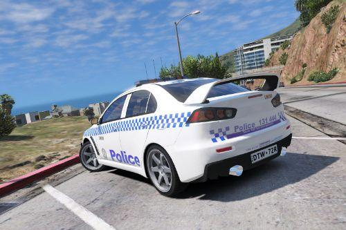 NSW Police General Duties Lancer