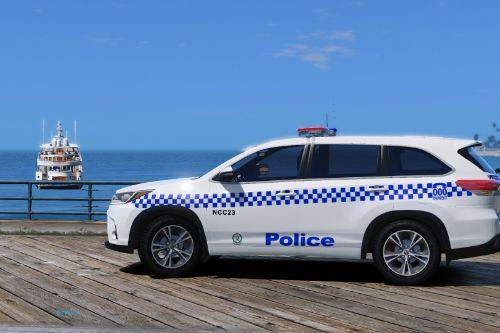 NSW police general duties toyota kluger