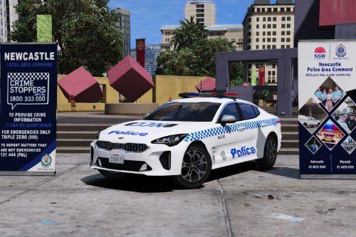 NSW Police Kia Stinger General Duties